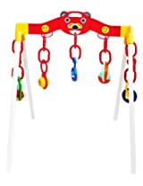 WonderKart Play Gym For Baby With Hanging Toys And Rattles