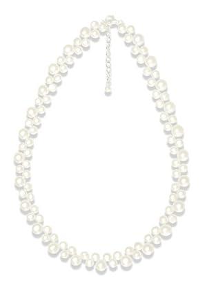 Valero Pearls 145150 - Collar de mujer de plata con perla cultivada de agua dulce, 47 cm