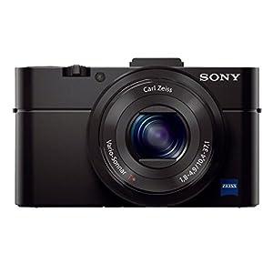 Sony Cyber shot DSC-RX100M2 20.2MP Digital Camera with Bag (Black)
