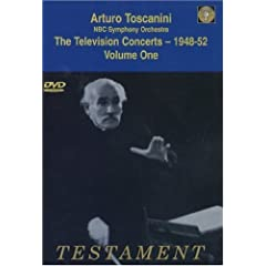 DVD Arturo Toscanini Television Concerts 1948-52 vol.1の商品写真