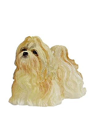 D.L. & Co. Shih Tzu Hand-Painted Candle