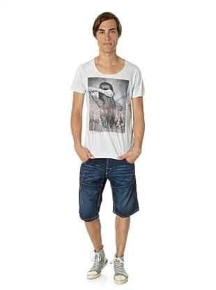 JACK & JONES Camiseta Offence slim fit (Perla)
