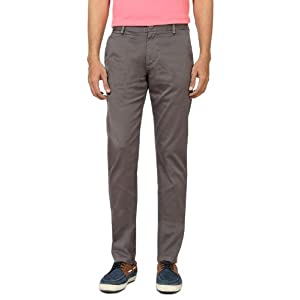 Peter England Flat Fronted Casual Trouser