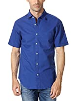 Peter England Linen Cotton Blend Shirt