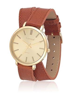 Metropolitan Reloj de cuarzo Venice Marrón 36 mm