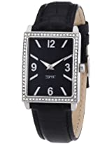 Esprit DesignerAnalog Black Dial Women's Watch - ES103992001 (3137)