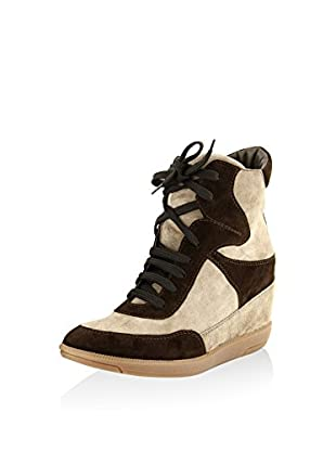 ROBERTO CARRIOLI Sneaker Zeppa Ankle