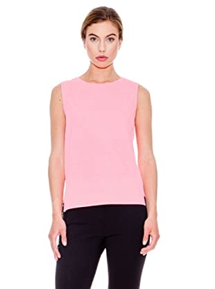 Mango Camiseta Mondrian (Rosa Flúor)