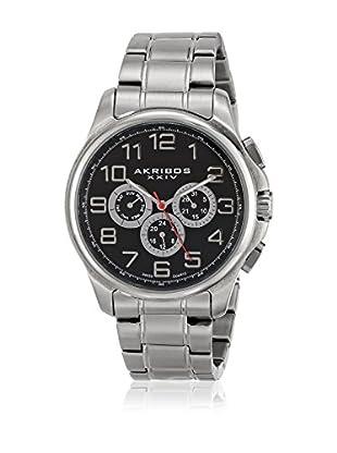 Akribos XXIV Reloj con movimiento cuarzo suizo Man AK748SSB 45 mm