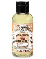 J.R. Watkins Bath and Body Oil Mango 4 oz. 6 Count