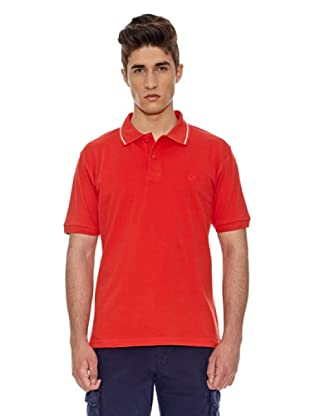 Carrera Jeans Polo Piquet Basic (Rojo)