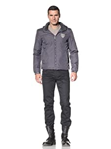 Rose Pistol Men's Ventura Nylon Jacket (Flint)