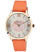 Kimio Analog Silver Dial Women's Watch - KW528M-RG0412