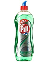 Pril Perfect Active 2x Dishwashing Liquid - 750 ml (Green) with Free Dishwashing Liquid - 225 ml