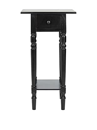 Safavieh Sabrina End Table, Distressed Black