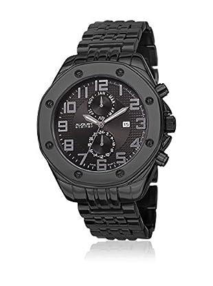 August Steiner Uhr mit schweizer Quarzuhrwerk Man AS8140BK schwarz 49 mm