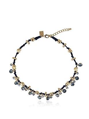 Otazu Collar  Dorado / Azul
