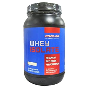 Prolab Whey Protein Isolate - 2 lbs (Vanilla Crème)