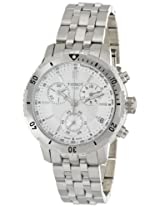Tissot Men's T0674171103100 PRS 200 Silver Chronograph Dial Watch