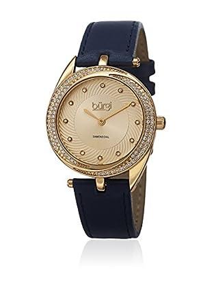 Bürgi Uhr mit Miyota Uhrwerk Woman BUR122BU 35 mm