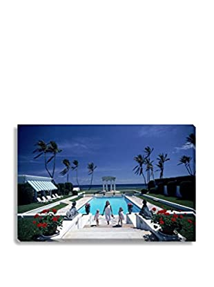 Photos.Com By Getty Images Neo-Classical Pool By Slim Aarons On Canvas
