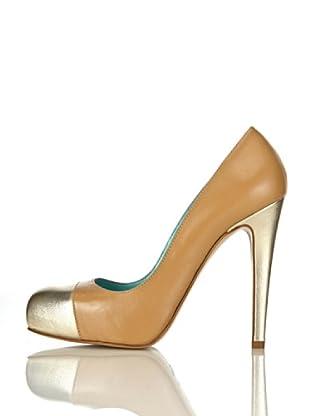 Pollini Zapatos Verbania (Beige / Oro)