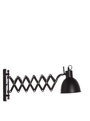 Lámpara de diseño Aplique Acordeón negro mate