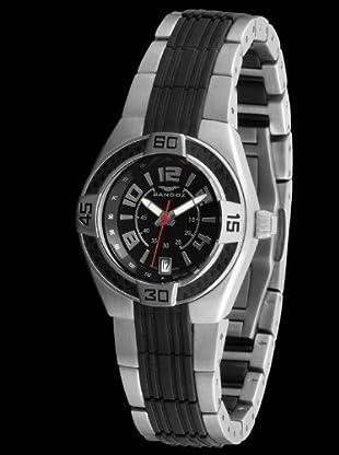 Sandoz 71570-05 - Reloj Fernando Alonso Señora negro / negro