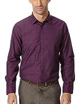 Van Heusen Textured Slim Fit Shirt