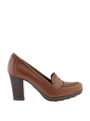 Paco Herrero Zapatos Mocasin Perforaciones (Cuero)