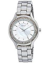 DKNY Analog Silver Dial Women's Watch - NY8134