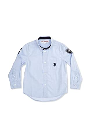 US Polo Assn Camisa Junior Isador (Azul Claro)
