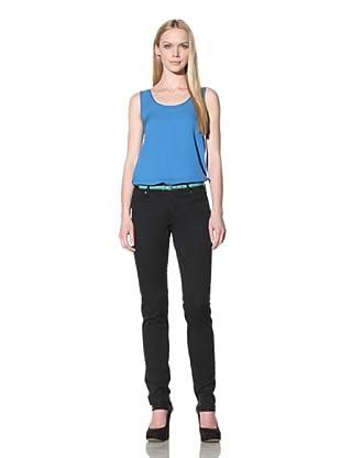 Christopher Blue Women's Silverton Cigarette Jean (Black)