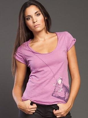 Ikks Camiseta Print (malva)