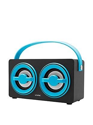 ZZ-UNOTEC Altavoz Bluetooth Xkutcher Azul