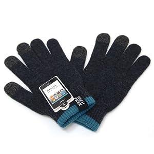 Touch Free Gloves (タッチフリー) スマートフォン・タブレット対応 アロマの香り ウール手袋 (M/L)