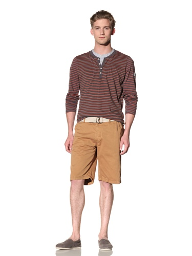 No Excess Men's Twill Short (Gold)