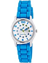 FASTRACK GIRLS SILICON ANALOG BLUE WATCHES - 6116SP01