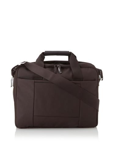 Mandarina Duck Double-Handle Briefcase with Removable Laptop Bag (Marrone)