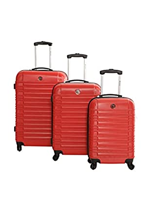 Geographical Norway Set de 3 trolleys rígidos Stanford
