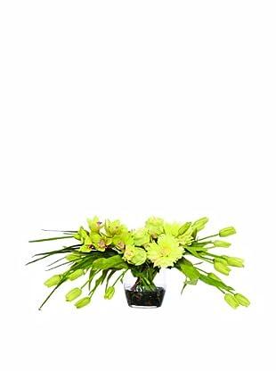 Lux-Art Silks Tulip Orchid Waterlike