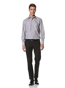 Valentino Men's Dress Shirt (Light Grey)
