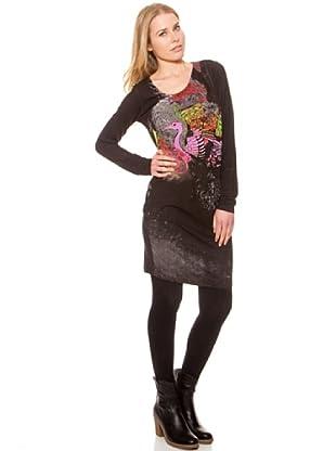 SideCar Kleid Design (Schwarz)
