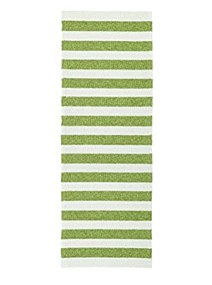 Kaleen Escape Indoor/Outdoor Rug, Green, 2' x 6' Runner