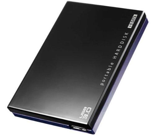I-O DATA USB3.0対応 レグザ・アクオス録画対応ポータブルハードディスク「カクうす」 500GB ブラック HDPE-UT500 [フラストレーションフリーパッケージ (FFP)]