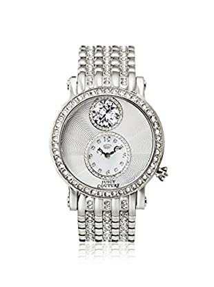 Juicy Couture Women's 1901072 Glitzy Silver Stainless Steel Watch