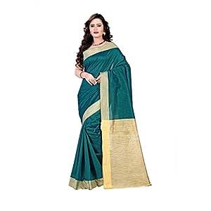 Vastrakala Khicha Saree with Blouse - Green