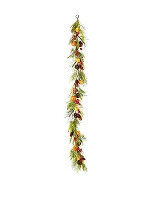 6' Pine/Pomander Garland