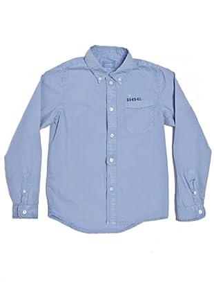 Diesel Camiseta Imagna (Celeste)