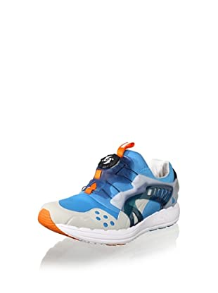 PUMA Future Disc Blaze Lite Fashion Sneaker (Hawaiin Ocean/Grey Violet/Gold)